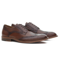 BROGUE GEORGE CARAMELO