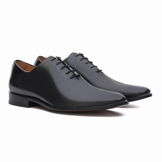 Sapato Social Wholecut Oxford Evan Preto