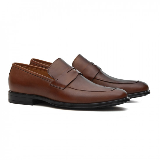 Sapato Masculino Loafer Grottie Whisky