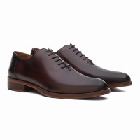 WHOLECUT OXFORD SUVA CHOCOLATE
