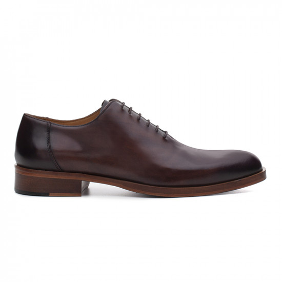 Sapato Social Wholecut Oxford Suva Chocolate