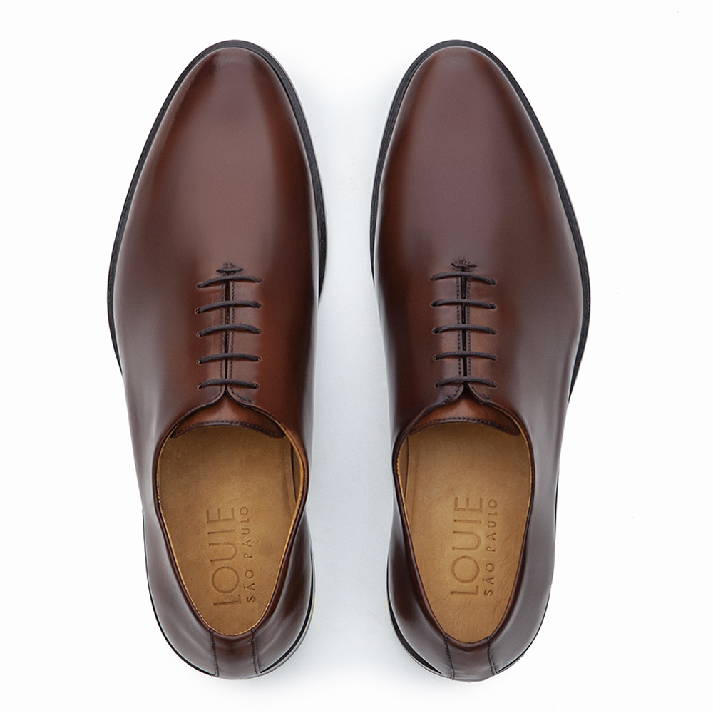 SAPATO SOCIAL WHOLECUT OXFORD EVAN WHISKY