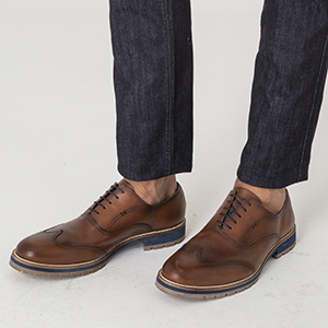 SAPATO CASUAL OXFORD SMOLLETT WHISKY