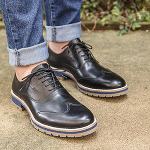 SAPATO CASUAL OXFORD SMOLLETT PRETO