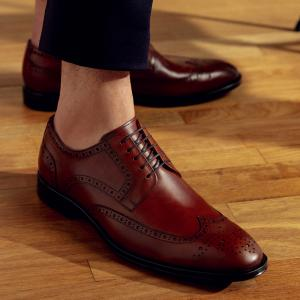 SAPATO MASCULINO DERBY BROGUE DEGLI WHISKY