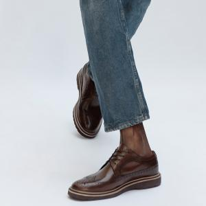 SAPATO MASCULINO DERBY BROGUE BURNETT